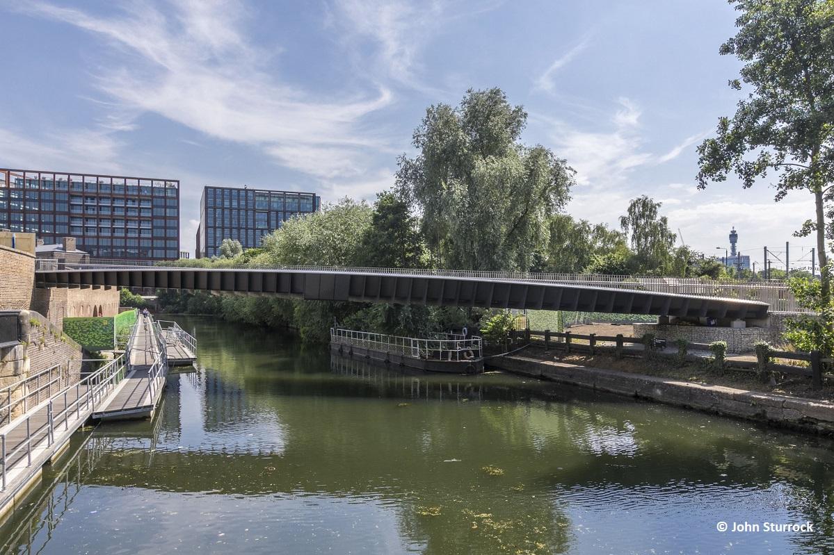 Beam Bridge Diagram Of The Design Concept Somers Town London
