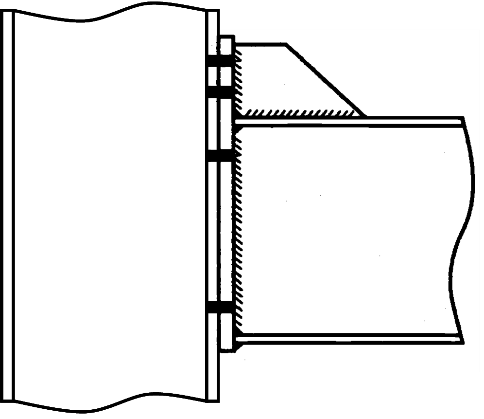 Shear And Moment Diagram For Frames Stiffened Extended End Plate