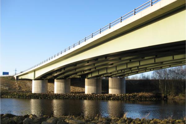 Multi girder composite bridges for Construction info