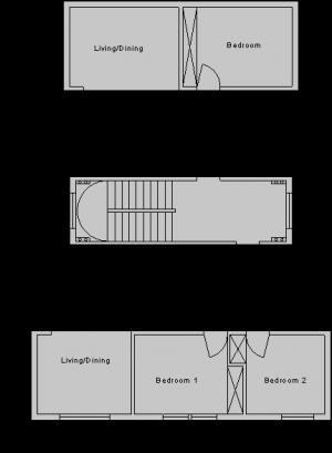 1 Standard Floor Apartment