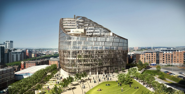 The co operative group head office manchester for Buro design luxembourg