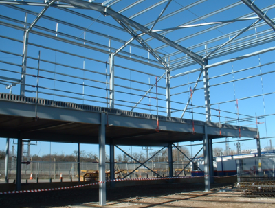 Single Storey Industrial Buildings Steelconstructioninfo