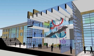 City Of Leicester College Steelconstruction Info