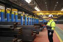 Rolled sections at Tata Steel.JPG
