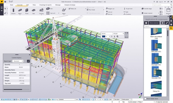 Modelling and analysis - SteelConstruction info