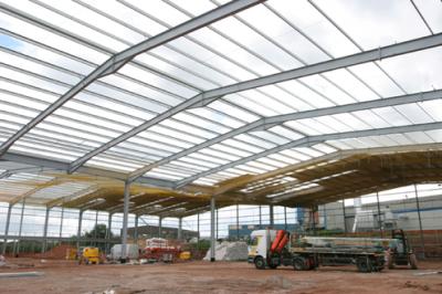 Single Storey Industrial Buildings Steelconstruction Info