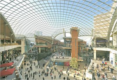 Cabot Circus Bristol Steelconstruction Info