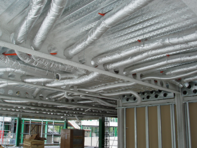 Above Floor Radiant Heating Systems