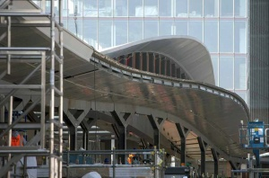 London Bridge Station Redevelopment Steelconstruction Info
