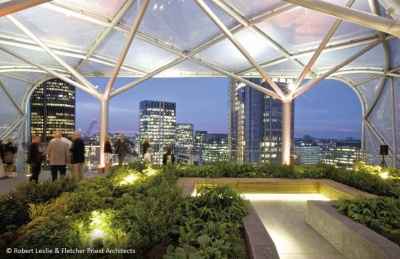 6 Bevis Marks Roof Garden London Steelconstruction Info