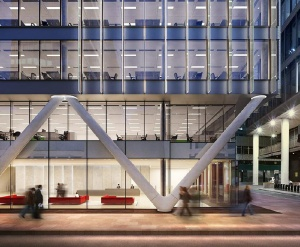 Moorgate exchange london for V column architecture