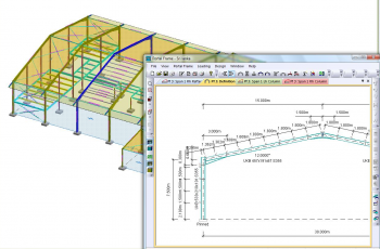 Modelling and analysis for Commercial space planning software