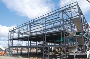 West Calder High School West Lothian Steelconstruction Info