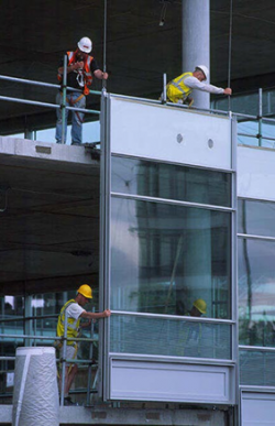 Facades And Interfaces Steelconstruction Info