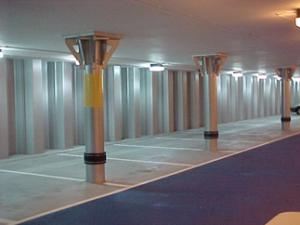 New Steel Basement Posts