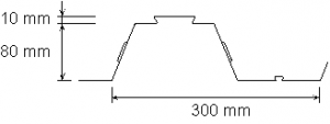 Fig 6 Geometry of typical 80 mm trapezoidal decking.png