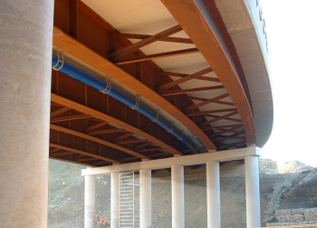 Plan Curvature In Bridges Steelconstruction Info
