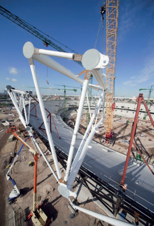 Olympic Stadium London Steelconstruction Info