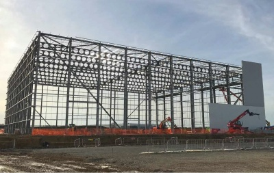Great Haddon cold storage depot - SteelConstruction info